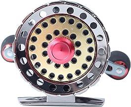 SH-QIAN Carrete De Pesca Rueda Delantera Relación De Velocidad 2.6: 1 Todo Metal Peso Ligero 6 + 1BB Suavizar Equipo De Pesca De Mar,Lefthand