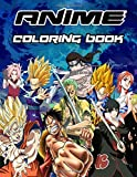 Anime Coloring Book: Anime Manga Coloring Books for Kids, Teens and All Fans