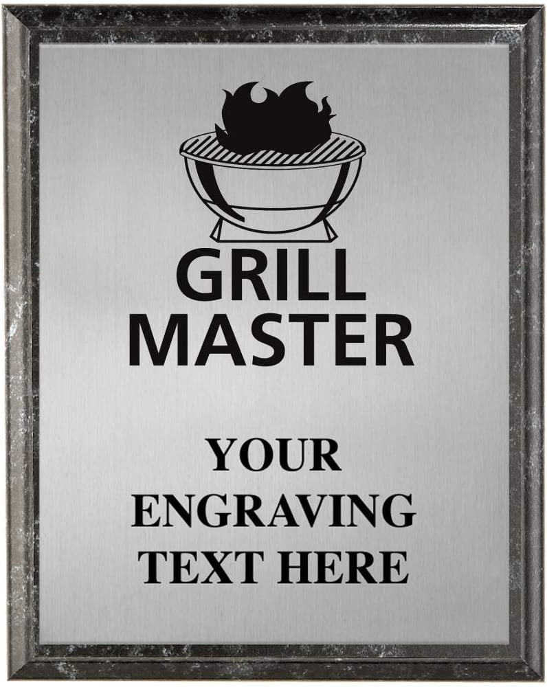 Inexpensive Crown Awards Grill Master Cooking Competit Personalized quality assurance Plaques