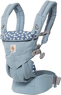 (跨境自营)(包税) ERGObaby Omni 全阶段型四式360婴儿背带 蓝色小花 BCS360DAISY