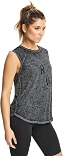 Rockwear Activewear Women's Gravity Tank Black 14 from Size 4-18 for Singlets Tops