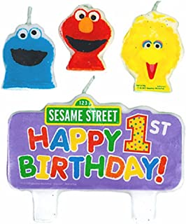 Sesame Street 1st - Molded Candle Set (4 count)