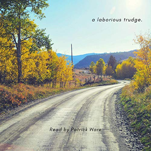 a laborious trudge. audiobook cover art