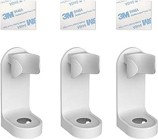 Mein HERZ 3-pack elektrisk tandborsthållare, självhäftande elektrisk tandborsthållare väggmonterad tandborstorganisatör, å...