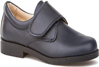 Zapatos de niño para Ceremonia. Zapato Fabricado en Piel y Hecho en España - Mi Pequeña Modelo 1810 Color Azul Marino.