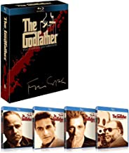 The Godfather: The Coppola Restoration Blu-ray Boxset (1972-1990) (Region A) (Hong Kong Version) 1-3 Movie + Special Features 4 Disc Collection Remastered