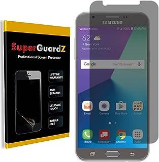 [عبوتان] واقي شاشة Samsung Galaxy J7 Prime [مضاد للتجاسس]، SuperGuardZ، مضاد للتوهج، مقاوم للخدش، مضاد للفقاعات [استبدال م...