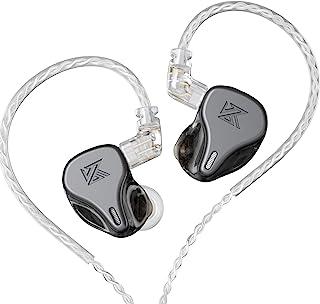 $28 » Sponsored Ad - KZ DQ6 Earphone 3DD Bass HiFi Earbuds in-Ear Monitor Noise Cancelling Music Sport Earphones(Gray,No Mic)