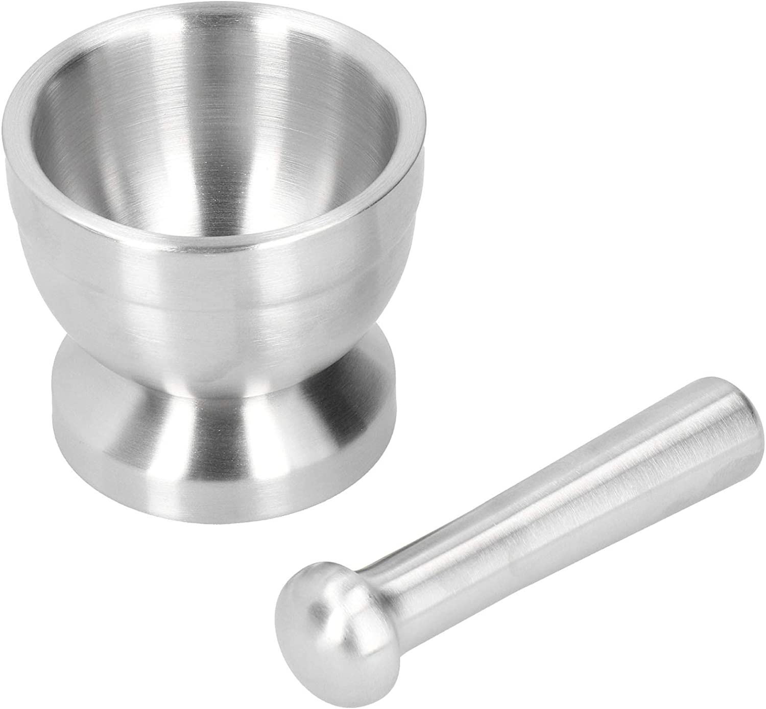 Limited time sale Garlic Grinder Mortar El Paso Mall and Pestle Spice Steel Stainless Set Grin