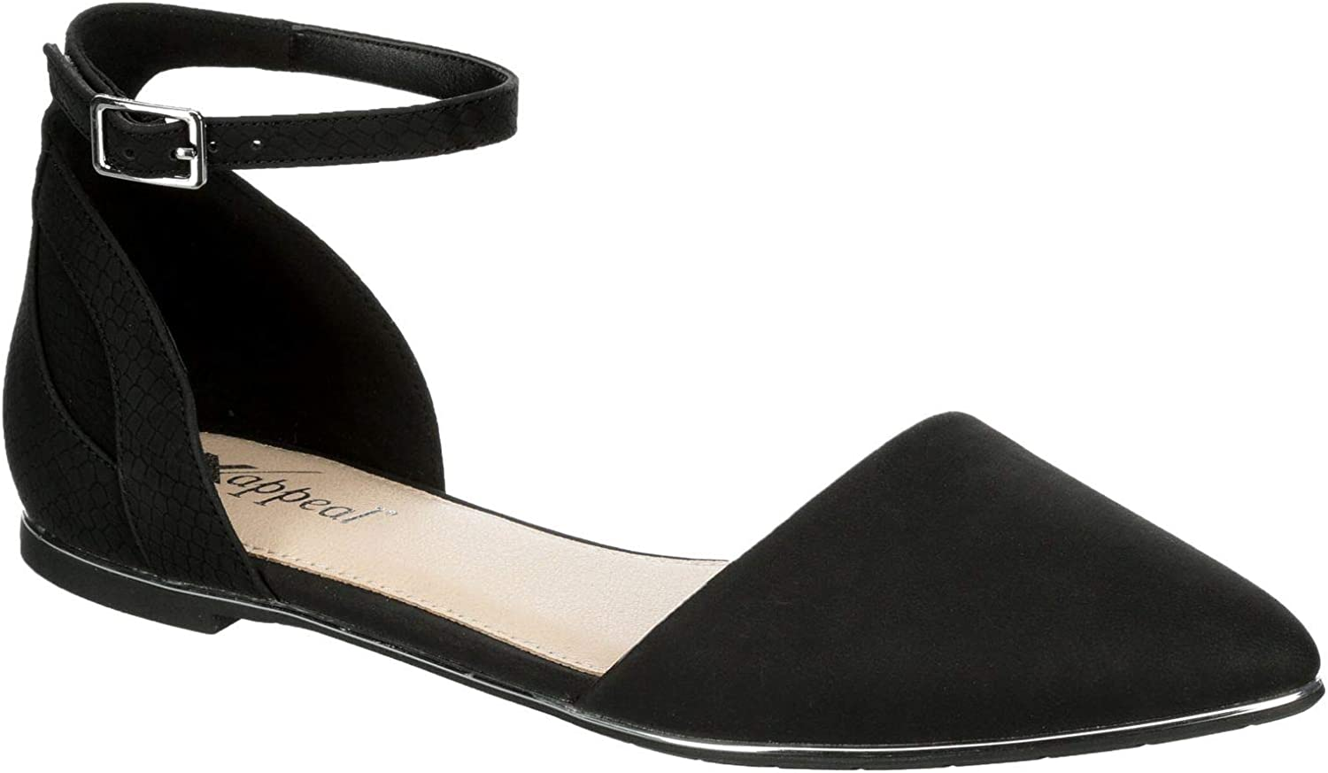 Ranking TOP18 XAPPEAL Althea - Womens Cushioned 70% OFF Outlet Slip Buckle Ankle Pointed On C