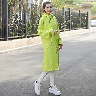 Ponchos for women Windbreaker Raincoat Couple Long Raincoat Outdoor Raincoat Poncho Hiking Travel Waterproof Rainwear Thickening Unisex