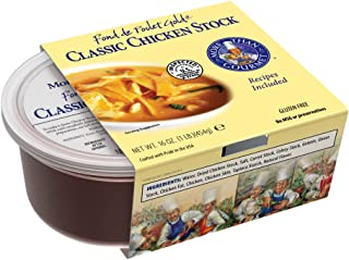 More Than Gourmet Fond De Poulet Gold, Classic Chicken Stock, 16-Ounce Packages