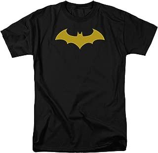 DC Comics Batman Hush Logo Mens Short Sleeve Shirt X-Large Black