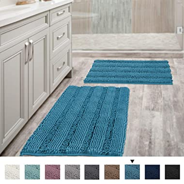 AMOY TANG Bathroom Three-Piece Toilet Cushion Non-Slip Carpet Pad Bathroom Absorbent Non-Slip Mat