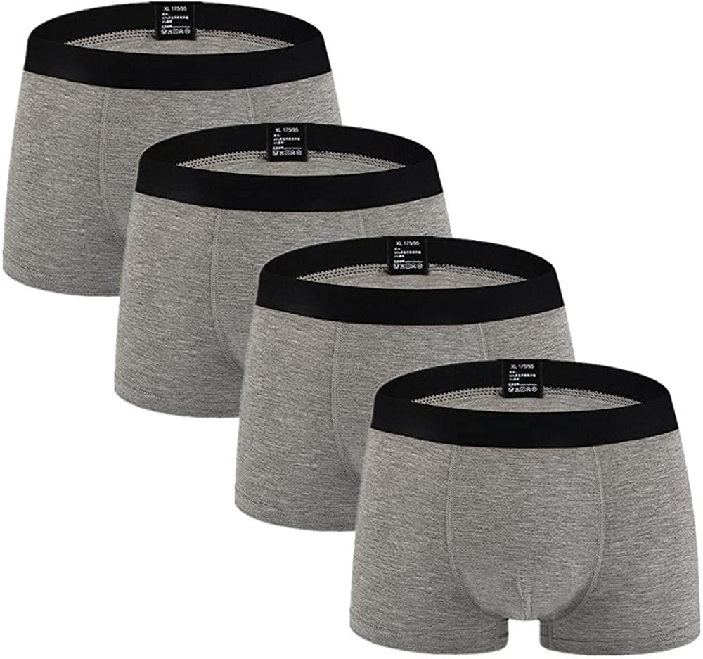 Boxershorts 4Pcs/Lot Men Underwear Cotton Shorts Men'S Panties Shorts Home Underpants Men Underwear Boxer 4Xl