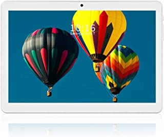 Android Tablet 10 Inch, 3G Unlocked Phablet with Dual SIM Card Slots and Cameras, Quad-Core Processor Tablet Phone, 1280x8...