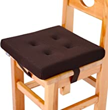 baibu Super Breathable Kids' Chair Pads Sandwich Mesh Fabric Square Seat Cushion with Ties for School Chair/Wood Chairs(10...