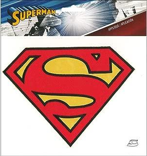 Simplicity Applique Iron On Lg Superman Logo App Superhero