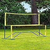 Vermont Procourt Combinazione Rete | per Tennis, Badminton, Pickleball, pallavolo e Calcio...
