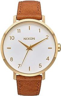 Nixon Arrow Casual Women's Watch (38mm. Leather Band)