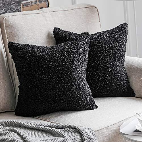 MIULEE Pack of 2 Decorative New Luxury Series Style Christmas Cream White...