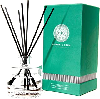 Gibson & Dehn White Tea & Cedar, 6 Oz. (178 ml) - Long-Lasting Reed Diffuser Blended with Sandalwood, Amber and Finishing ...
