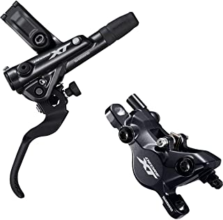 SHIMANO Deore XT M8100 M8120 Disc Brake and Lever - Hydraulic, Post Mount, 2-Piston, Black