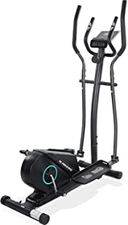 MaxKare Elliptical Machine for Home Use Portable Elliptical Exercise Machine Magnetic Elliptical Trainer with Flywheel & Extra-Large Pedal & LCD Monitor