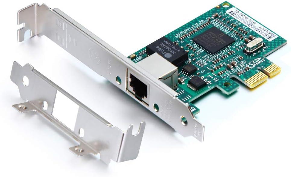 1.25G Regular discount Gigabit Ethernet Converged Oakland Mall Network NIC Compatibl Adapter
