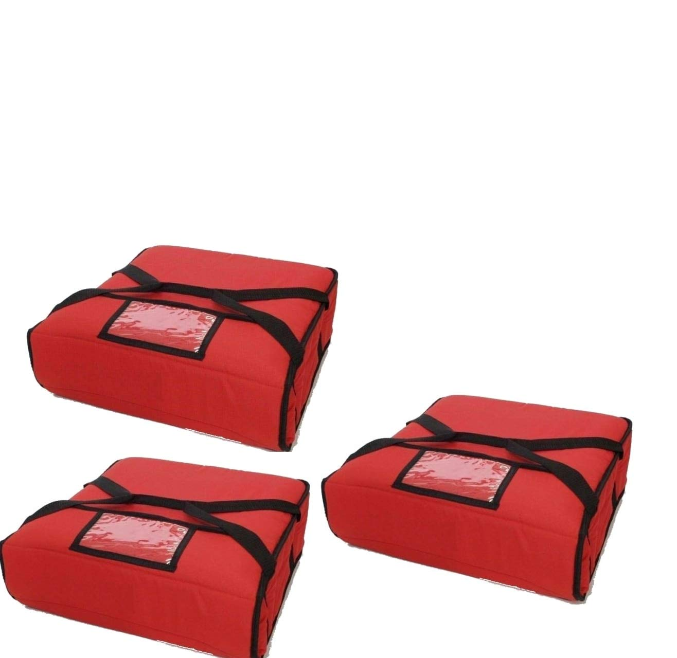 Red Pizza Delivery Houston Mall Bag Industrial Moist Resistant Standard store Stain
