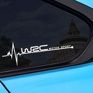 Piaobaige 2PCS Auto Seitenfenster WRC Aufkleber