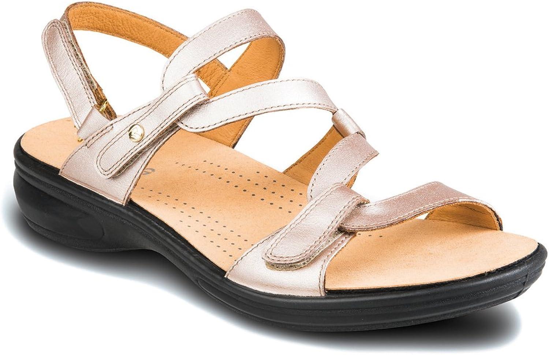 Women's Revere, Miami Sandals CHAMPAGNE 12 M