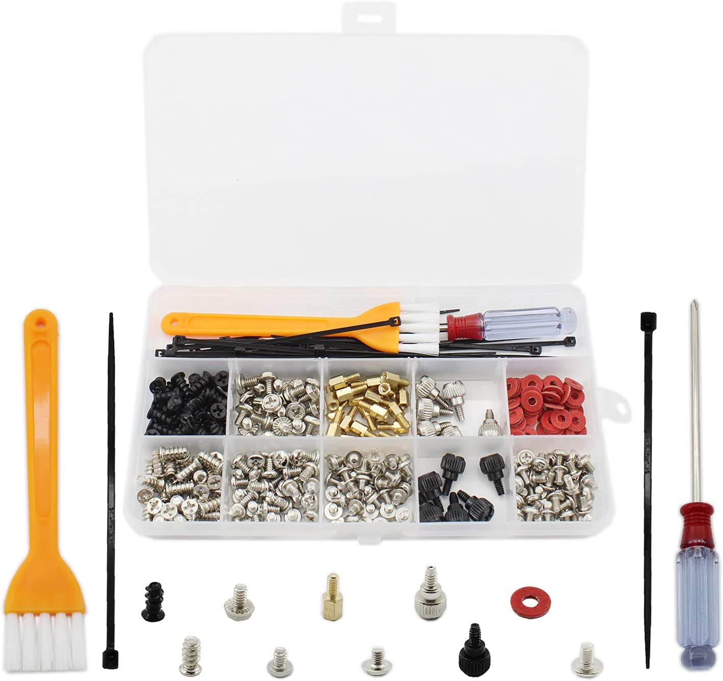 330PCS Personal Sale Inexpensive special price Computer Screw Kit Standoffs S Spacers TTZEZE PC