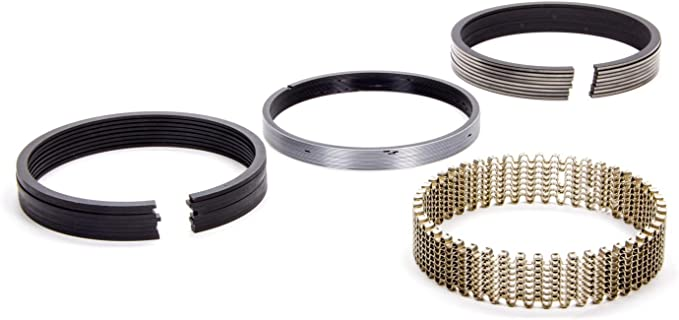 Hastings 6714050 4-Cylinder Piston Ring Set
