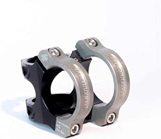 Renthal Apex 35 Bicycle Stem - Clamp: 35mm , L: 50mm, Steerer: 28.6mm, �6�, Black/Gold - STM119-BKAG