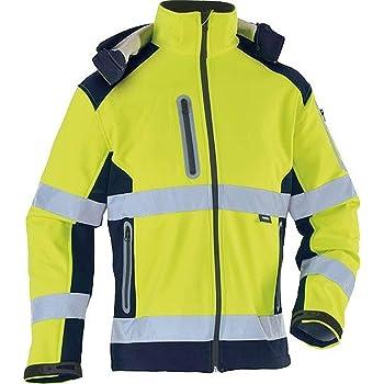 Bl/åkl/äder Workwear 67-49002517-3399-3XL Warnschutz Softshelljacke 4900-BLAKL/ÄDER gelb//schwarz 3XL