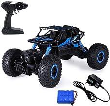 RADHE Krishna Export Original Rock Crawler 4 WD RC - Rally Car (1:18 Scale) (Blue)