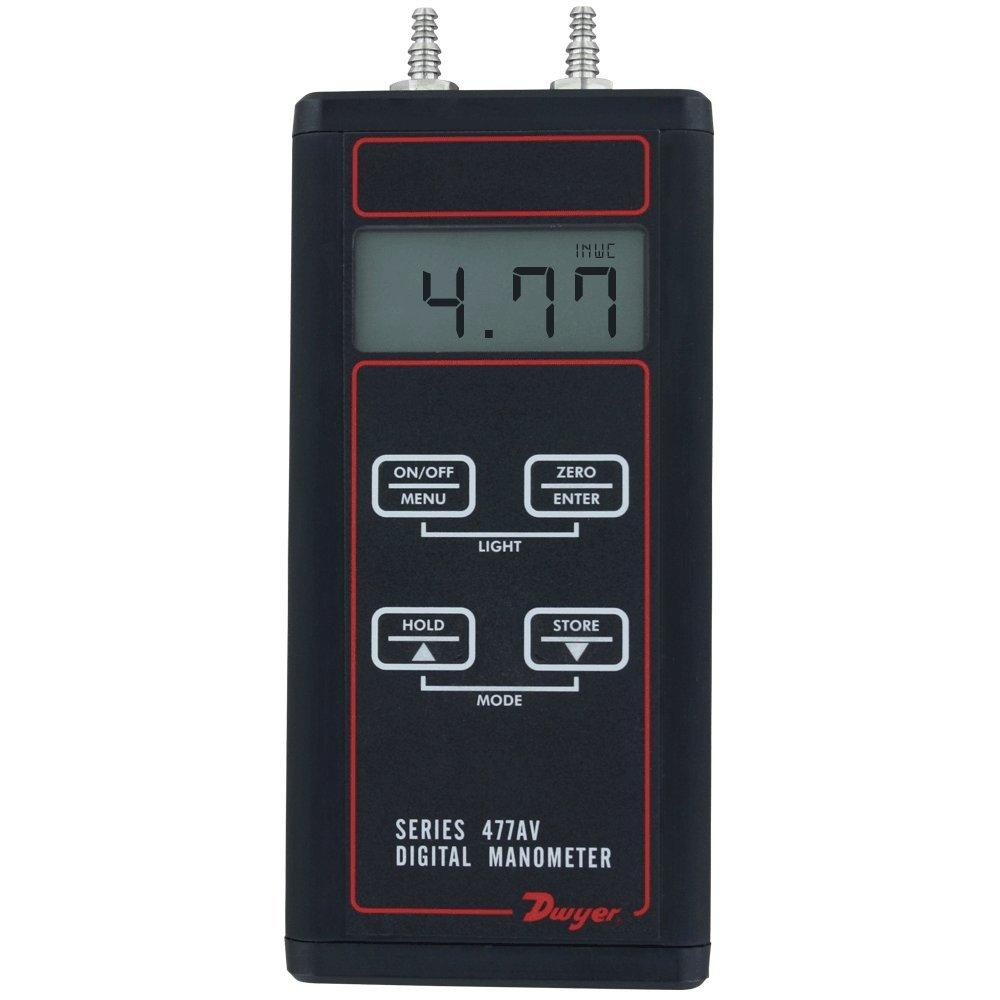 Dwyer 477AV Handheld Digital Manometer wc 477AV-00 Air V 5 ☆ very popular 0-4