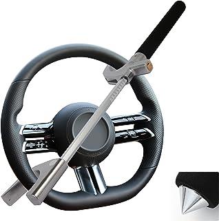 $29 » Steering Wheel Lock,Anti Theft Car Device,Hydraulic Telescopic Lock Lever Security Hammer Window Breaker Universal Fit Veh...