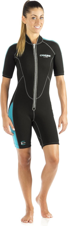 Cressi LIDO, 2 mm Neoprene Men's Front Zip Shorty Dive Suit Cressi  Quality Since 1946