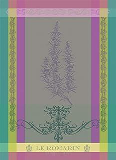 Garnier-Thiebaut 40552 Brin De Romarin Orchidee Kitchen Towel, Cotton, Multiple