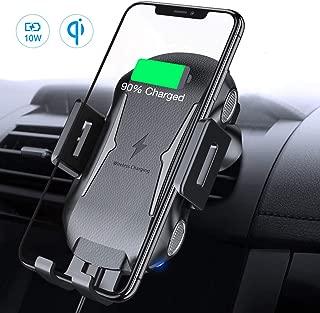 MoKo Auto Handyhalterung Ladeger/ät Wireless Charger 10W Qi Kabellos Schnellladen Armaturenbrett Handy Halter f/ür iPhone 11//11 Pro//11 Pro Max//Xs MAX//XS//XR//X//8//8 Plus Samsung Galaxy Note 10//S10//S9//S8+