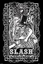 BEYONDTHEWALL Archive Slash Skeleton Classic Heavy Rock Music Guitar Icon Print (24x36 Unframed Poster)