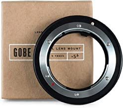 Gobe Lens Mount Adapter: Compatible with Olympus OM Lens and Canon EOS (EF/EF-S) Camera Body