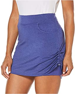 PGA TOUR Cinch-Side Golf Skort Women's Size S/CH Blue