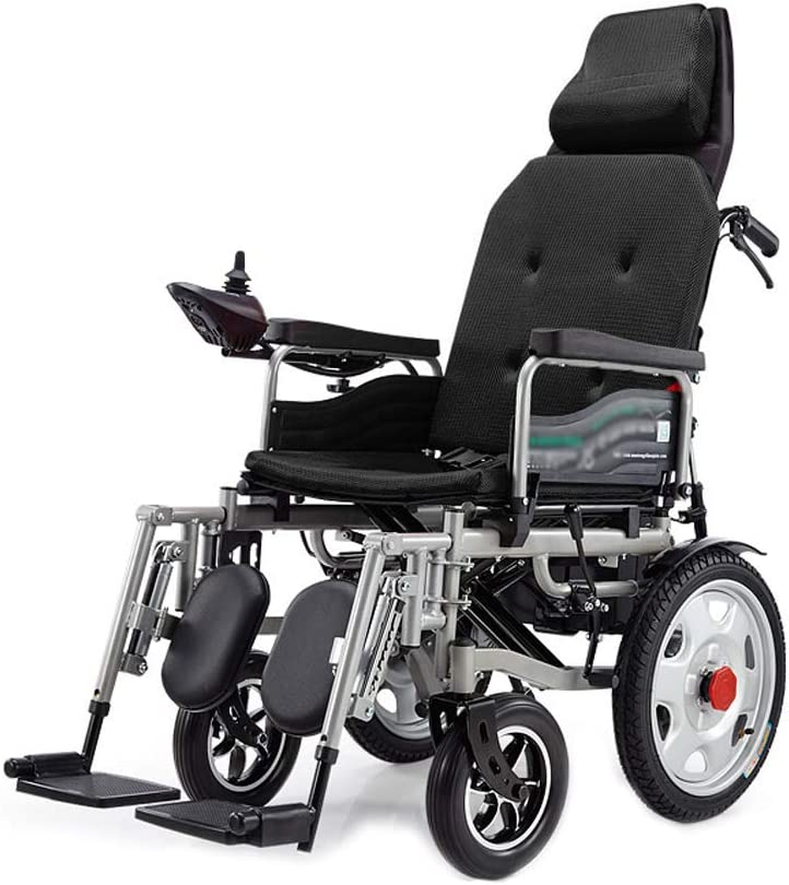 YD Electric Wheelchair Folding Elderly Four-Whee Year-end gift Japan Maker New Disabled Smart