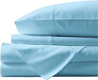 Paramount Dyeing Co. 100% Egyptian Cotton 4-Pc Sheet Set 1000 TC Premium Quality Luxurious Feel Italian Finish Bedding Set...