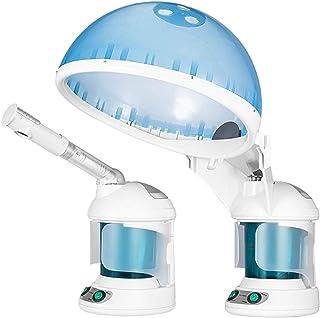 2 in 1 Haar en Gezichtsstoomboot Haarbevochtiger Hete Mist Vochtinbrengende Hydratatie Systeem Sprayrayer Persoonlijke Ver...