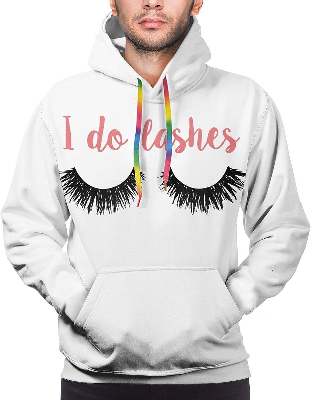 Hoodie For Men Women Unisex I Do Eyelashes 3d Printed Hooded Sweatshirt