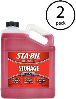 STA-BIL Gasoline Treatment Additive Fluid Fuel Stabilizer, 1 Gallon (2 Pack)